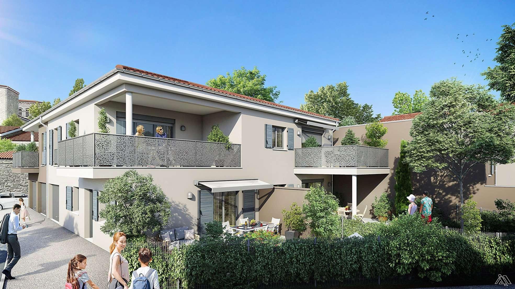 Programme Immobilier Neuf Habitat Dauphinois Le Clos Sonneur