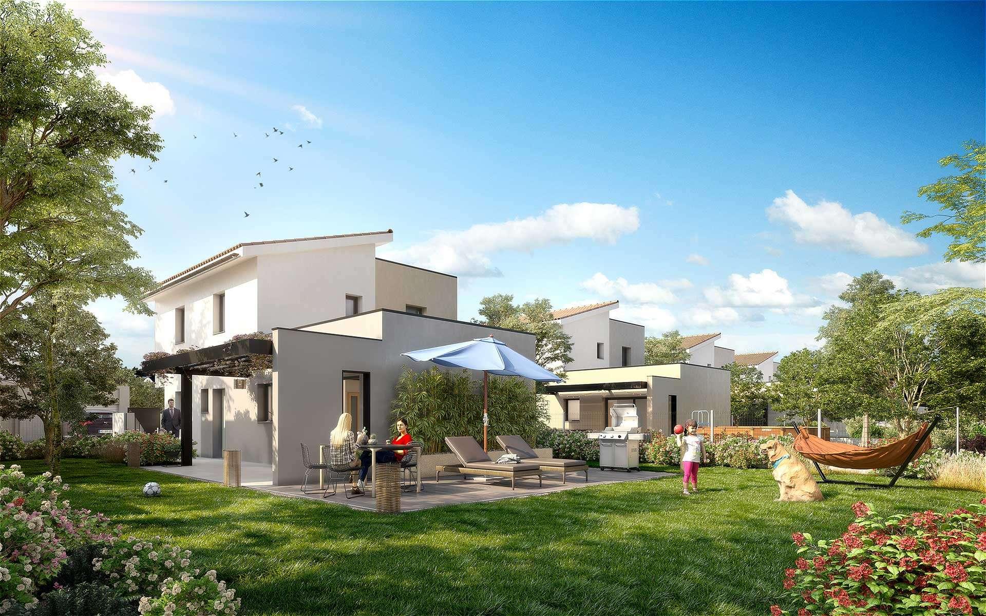 Programme Immobilier Habitat Dauphinois Les Jolis Lauriers