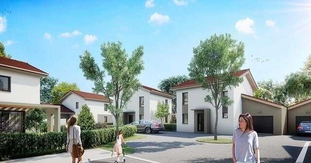 Maison-Neuve-Saint-Marcellin-avec-Jardin